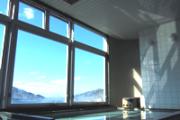 最上階の展望風呂